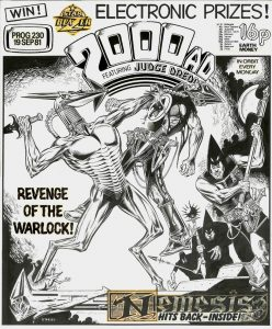 Nemesis The Warlock 2000AD cover. Prog 230