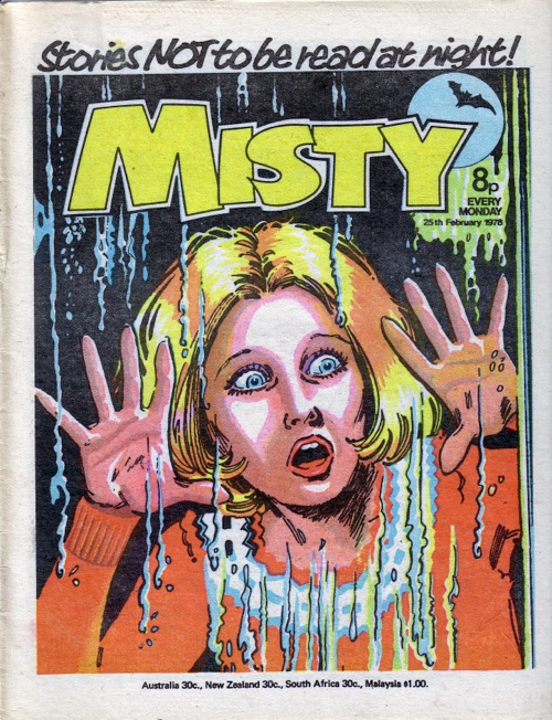 Misty: Terrifying young readers from 1978