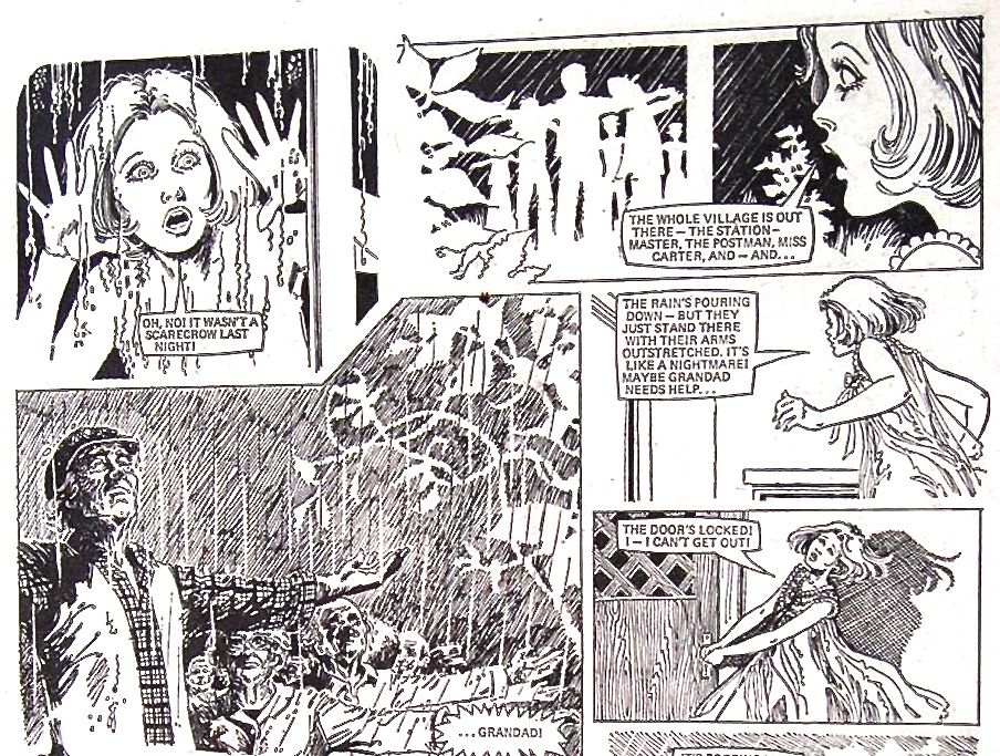 Roots, from girls comic Misty. Story: Pat Mills, Art: unknown