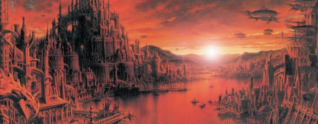 Panorama Necropolis from Requiem Vampire Knight
