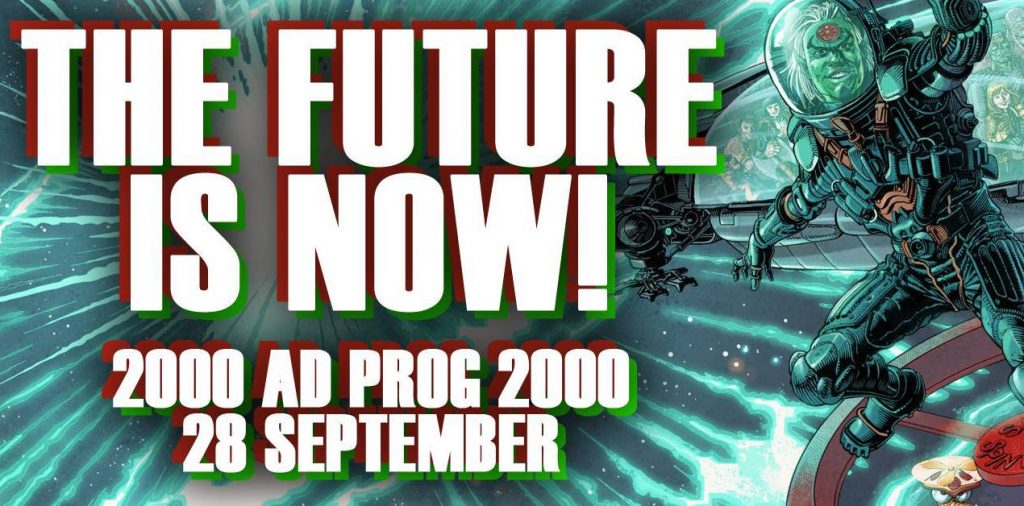 2000AD Prog Issue 2000