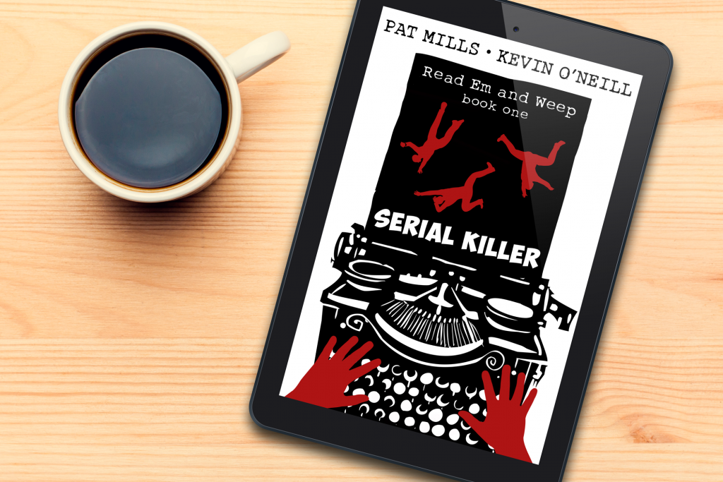 Read Em and Weep: Serial Killer ebook on tablet