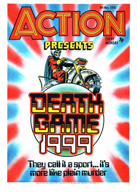 Action comic Death Game 1999