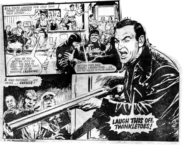 2000AD Invasion Laugh this off twinkletoes