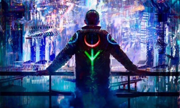 Soul Jacker cyberthriller by Michael John Grist