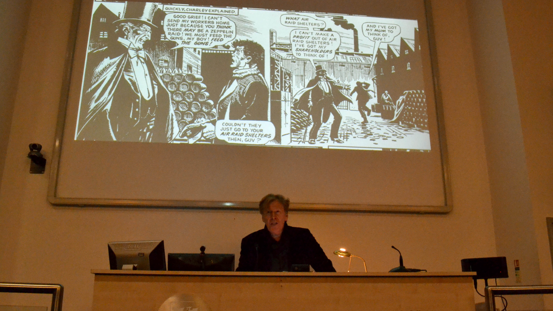 Pat Mills Uni of Liverpool lecture: Charley's War