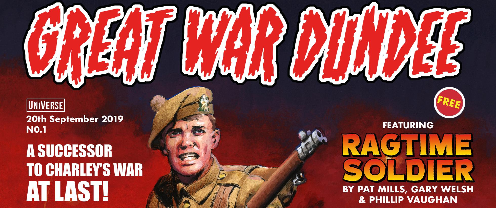 Great War Dundee comic